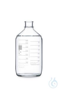 Botella de autoclave DURAN® Phoenix 2000ml para usar con tapón de goma a...