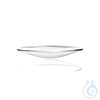 Watch Glass Dish made from soda-lime glass, fused rim Watch Glass Dish, soda-lime glass, Ø 70 mm...