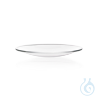Watch Glass Dish made from soda-lime glass, fused rim Watch Glass Dish, soda-lime glass, Ø 90 mm...