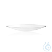 Watch Glass Dish made from soda-lime glass, fused rim Watch Glass Dish, soda-lime glass, Ø 250 mm...