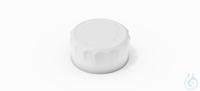 DURAN® YOUTILITY® Tapa roscada, GL 45, de PP, ergonómico, Blanco, USP Class...