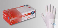 Nitrilhandschuhe Unigloves Format, puderfrei, Größe S, weiß • Chemikalienschutz EN 374  • weiß...