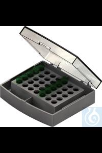 Wechselblock 35 x 1,5 ml Wechselblock 35 x 1,5 ml    für 35 Reaktionsgefäße 1,5 ml  passend in...