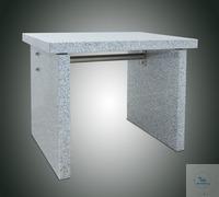 Wägetisch aus Granit, schwingungsfreie Konstruktion mit verbesserter Beinfreiheit, mit...