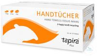 Tapira Plus Papierhandtuch Tissue Comfort 2-lagiges Papierhandtuch, weiß...