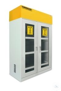 Chemisafe 120 GLAS - Sicherheitsschrank zur Aufbewahrung von Chemikalien...