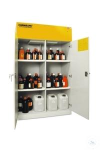 Chemisafe CS 120 Woodline, mit Ventilator Sicherheitsschrank zur Aufbewahrung...