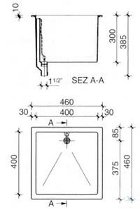 2Artikelen als: ASEM® Becken VS0004 aus PP für Arbeitstisch Polypropylen-Becken für die...