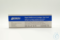 Boson COVID-19 Antigen Schnelltest / Laientest Boson Rapid SARS-CoV-2 Antigen Test Card...
