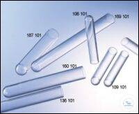 TUBE, 14 ML, PS, 17/100 MM, ROUND BOTTOM,, CLEAR TUBE, 14 ML, PS, 17/100 MM,...