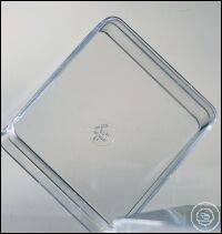 COVER GLASS, 76/51 MM, FOR MICROTEST PLATES,, 50 PCS./BAG COVER GLASS, 76/51...