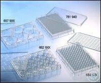 CELL CULTURE MICROPLATE, 96 WELL, PS, F-BOTTOM, (CHIMNEY WELL), CLEAR,...