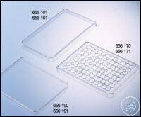 LID WITH CONDENSATION RINGS, PS, HIGH PROFILE, (9 MM), CLEAR, SINGLE PACKED...