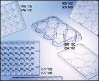 CELL CULTURE MULTIWELL PLATE, 6 WELL, PS, CLEAR,, CELLSTAR®, TC, LID WITH...