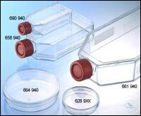 CELL CULTURE FLASK, 250 ML, 75 CM², PS,, CELLCOAT®, POLY-D-LYSINE, RED FILTER...