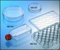 CELL CULTURE FLASK, 50 ML, 25 CM², PS,, CELLCOAT®, LAMININE, RED FILTER SCREW...