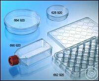 CELL CULTURE FLASK, 50 ML, 25 CM², PS,, CELLCOAT®, FIBRONECTIN, RED FILTER...