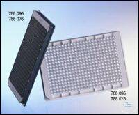 MICROPLATTE, 384 WELL, PS, SMALL VOLUME,, LOBASE, MED. BINDING, SCHWARZ,...