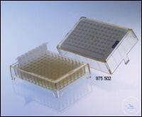 STORAGE BOX, PC , WITH 96 TUBES AND CAPS,, ID-CARD, STERILE STORAGE BOX, PC ,...