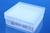 Cryobox 9*9 PP weiß bis -86°C, 2D Barcode Innenraster 9*9 PP fest eingebaut  Alphanummerische...