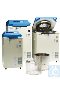 4Artículos como: Autoclave HV-L 25 Autoclave HV-L 25, toploading, vertical, effective usable...