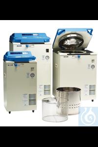 Dampfsterilisator HV 25 L 25 ltr. Volumen, 2,0 kW, Nutzraum Ø 240x550 mm,...