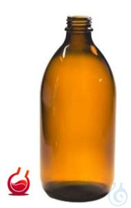 Enghalsflasche 250 ml Braunglas (VE 42 ST) ohne Verschluss DIN 22