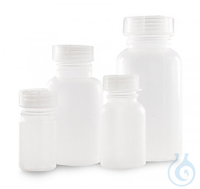 Weithalsflasche 1000 ml LDPE m. Schraubverschluss