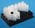 mysamples Cryobank Röhrchen 2,0 ml 20 Racks mit 48 Röhrchen mit 2D Barcode  Cryoröhrchen mit...