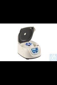 CD-0412-50, Kleinzentrifuge, 6 x 50 ml, 4000 rpm, inklusive Rotor für 6 x 50 ml oder 6 x 15 ml...