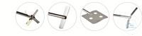 Paddle stirrer RSO-E 11 Flächenrührer, Flügeldurchmesser 70 mm, Wellendurchmesser 8 mm,...