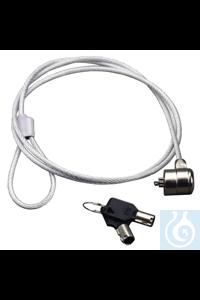 Sicherungsschloss mit Kabel
