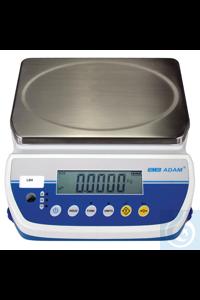 LBX 30 Tischwaage (LATITUDE) •Kapazität: 30kg •Ablesbarkeit: 5g •Größe Wägeplatte aus...