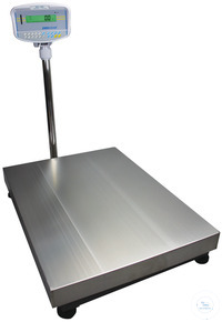 9Panašios prekės GFK 150 Floor Check Weighing Scales 150kg/10g, Pl. size 400×500mm GFK Floor...
