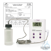 H-B Frio-Temp Calibrated Electronic Verification Thermometer; -50/200C...