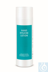 Hand-Hygiene-Lotion, VE = 500 ml, die Lotion enthält 83,3 % Alkohol