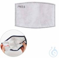 Aktivkohlefilter PM 2.5, VE= 30 St. Aktivkohlefilter PM 2.5, Filterelement dieser Maske verfügt...