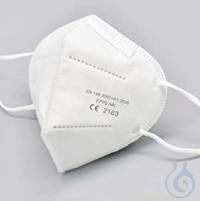 Mundschutz FFP2 Masken, VE= 5 St. FFP2 Masken, PP-Faserrohstoff mit Filterelement, mit...