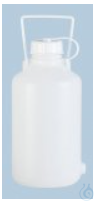 Ballonbehälter mit Tragebügel 5 L Ballonbehälter mit Tragebügel, 5 Liter, PEHD, Farbe natur,...