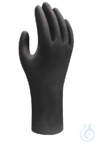 Handschuhe, nitril, schwarz, Gr. M Handschuhe, nitril, schwarz, Größe M, nicht steril, puderfrei,...