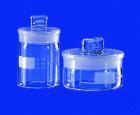 Wägeglas, niedrige Form mit NS-Deckel, 15 ml, AD 40 mm Wägeglas, niedrige Form mit NS-Deckel, 15...
