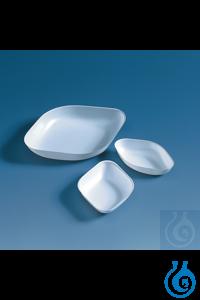 Wägeschalen 25 ml, PS, weiß, VE = 500 Wägeschalen, 25 ml, antistatisch, diamantförmig, 71 x 46 x...