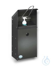 Desinfektionsspender f. die Wandmontage 423mm x 180mm x 150mm Händedesinfektionsstation, 423mm x...