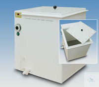 Dampftopf (Maße 40x40x45 cm)  Gehäuse:Polypropylen (PP) weiß; Materialstärke 10 mm...