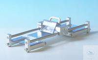 Folienschneider (4 Streifen)  Schneidegerät mit Klemmvorrichtung für FolieKugelgelagerter...