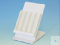 Rack for Araeometers (for 4 Araeometers)  PVC white, with drip tray. For convenient storage of...