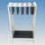 Rack for Pippetes and Thermometers  Material:PVC white Dimension:165x130x280 (LxWxH)...