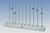 Reihenwasserbad für Ex-Schutz-Bereiche, (Maße 130x21x8)  Gehäuse:Polypropylen (PP) weiß;...