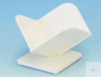 Tilted support for basket  PVC white, slip-proof Base plate. For square...