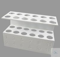 SmartLab Reagenzglasgestell mit, Nummerierung (für 6 Reagenzgläser) Das SmartLab SLS 12 von Aerne...